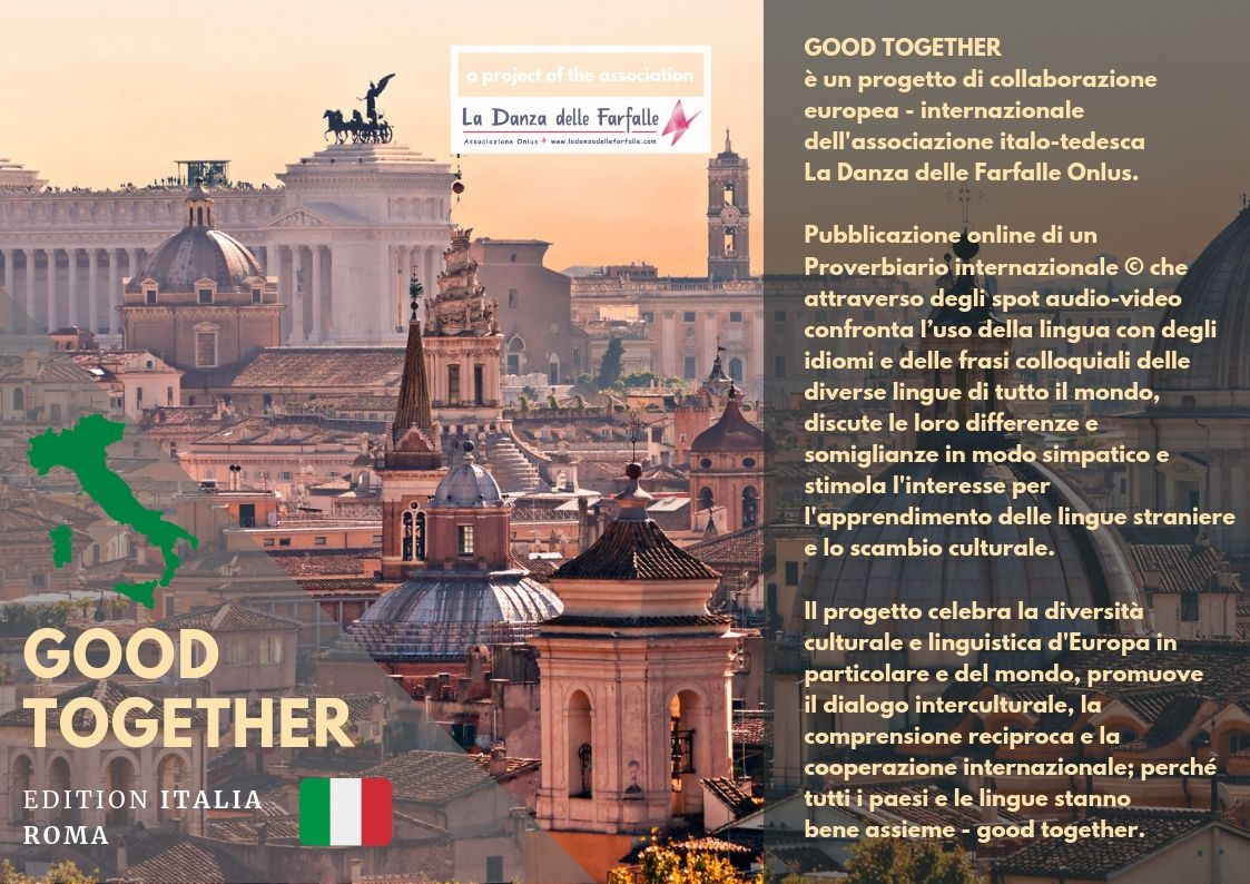 GOOD TOGETHER  Roma Berlino