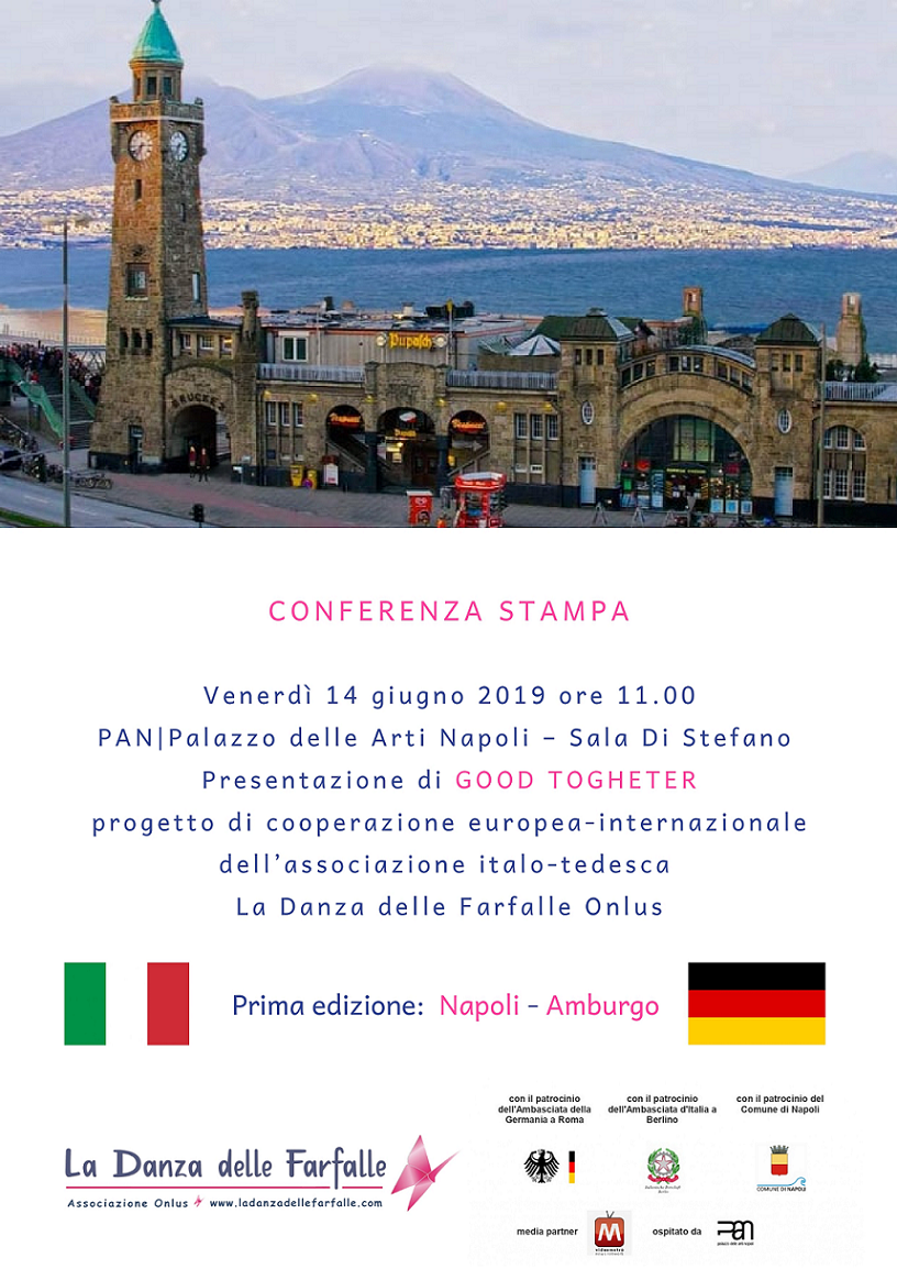 POSTER Conferenza stampa GOOD TOGHETER sito